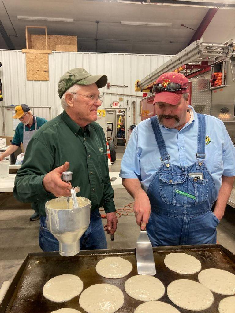 Crawfordsville Lions serve up pancakes